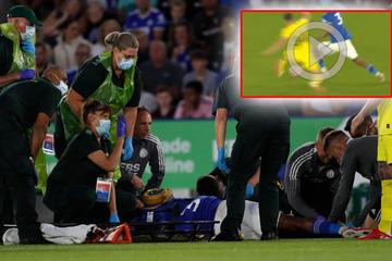 Horror-Verletzung nach Beinschere: England-Profi mit Wadenbeinbruch nach Rache-Foul?