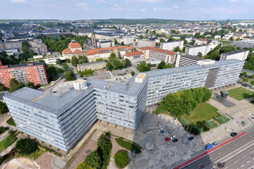 """Chemnitz: Abriss? Was wird aus der """"Parteisäge"""" in Chemnitz?"""