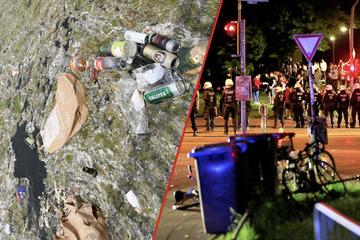Nach illegalen Massenpartys: An diesen Orten griff die NRW-Polizei nun hart durch
