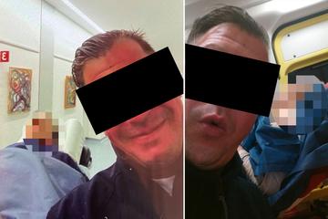 Dreist! Rettungssanitäter machte Selfies mit hilflosen Patienten