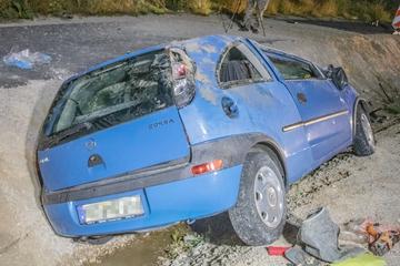Beton-Absperrung übersehen? Mann nach Unfall bei Baustelle schwer verletzt