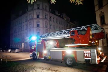 Chemnitz: Brennender Mülleimer sorgt für Feuerwehreinsatz in Chemnitz
