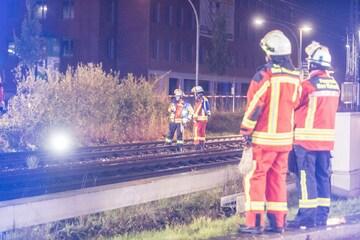 Zwei Menschen von Zug erfasst und tödlich verletzt