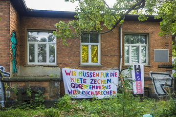 Dresden: Erneute Hausbesetzung in Dresdner Neustadt
