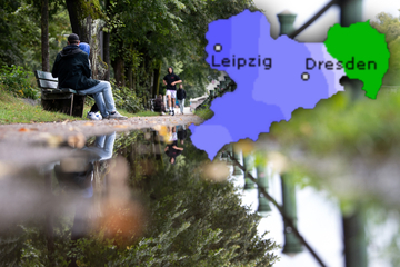 Erst Spätsommer, dann Starkregen: Das Wetter in Sachsen weiß nicht, was es will