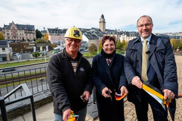 Millionen-Projekt: Die neuen Schlossterrassen in Plauen sind fertig