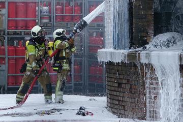 Dresden: Nach Explosionen: Großbrand in Dresden endlich gelöscht