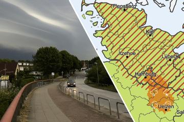Unwettergefahr! DWD warnt vor Starkregen und Gewittern in Hamburg