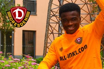 "Dynamo's newcomer Michael Akoto: ""The 'Mokki' is like a big brother to me!"""