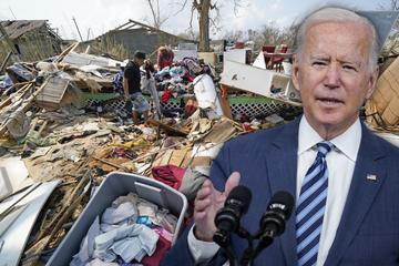 Los desastres naturales golpean los Estados Unidos: Biden habla sobre una crisis climática