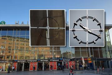 Nur die Reste hängen noch: Wo ist die berühmte Uhr am Kölner Hauptbahnhof?