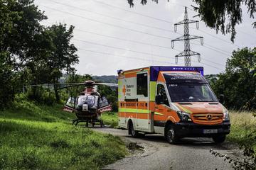 Mensch bei Explosion von Beatmungsgerät verletzt