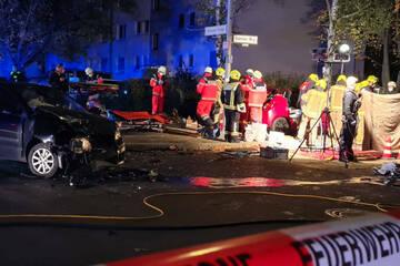 Berlin: Heftiger Kreuzungs-Crash mit möglicher Clan-Beteiligung in Berlin-Spandau