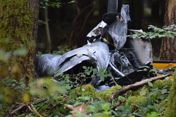 Drei Männer bei Hubschrauberabsturz gestorben: Ermittlungen gehen weiter
