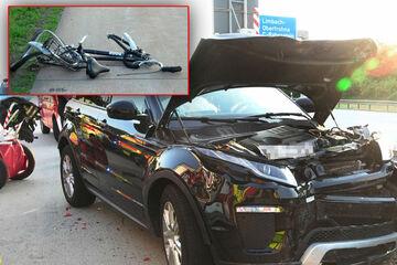 Unfall A4: Fahrrad löst Unfälle auf A4 aus: kilometerlanger Stau zum Freitagabend!