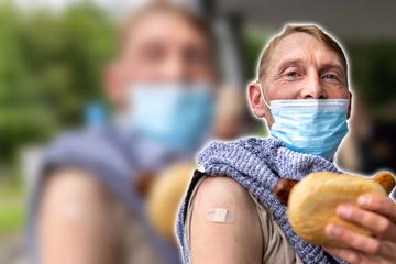 Impfaktion: In Aue geht es um die Wurst
