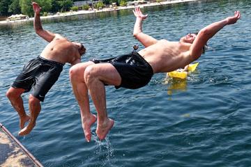 Köln: Gegen das Schwimm-Verbot im Fühlinger See: Kölner geht einen besonderen Weg