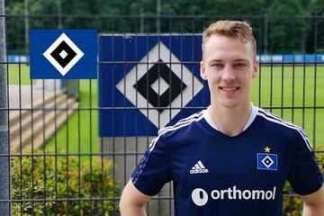 """HSV-Neuzugang Sebastian Schonlau weiß: """"Hier ist alles eine Nummer größer!"""""""