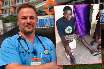 Chemnitz: Chemnitzer Arzt lässt Jugendlichen aus Gambia einfliegen, um dessen Bein zu retten