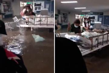 Krankenhaus überschwemmt: Mindestens 17 Tote