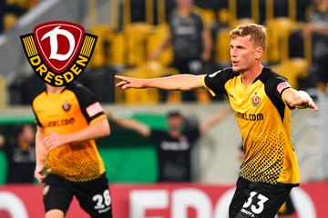 Einer der letzten Mittelstürmer: Dynamos Christoph Daferner hat Biss und Willen!