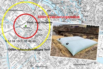 Bombe in Bremen gefunden: Sprengung erfolgreich, Sperrungen aufgehoben