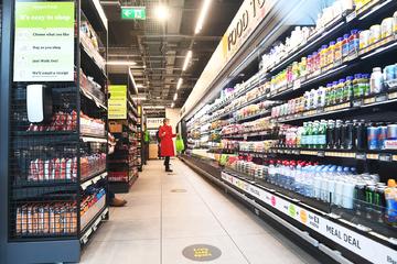 Einkaufen ohne Kassen: Amazon eröffnet ersten Laden auf Supermarkt-Niveau