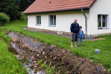 Hochwasser flutete gleich zweimal ihr Haus: Unterstützung für Familie aus Meerane