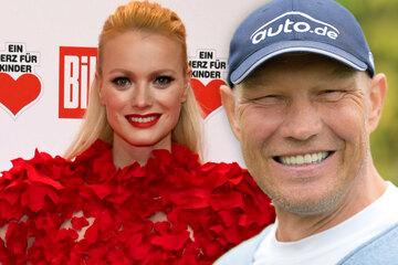 Box-Legende Axel Schulz und Model Franziska Knuppe sind Brandenburgs Einheitsbotschafter
