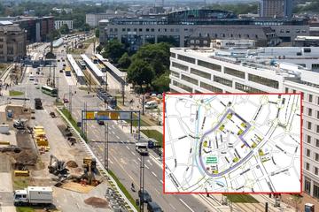 Baustellen Chemnitz: Baustellen in Chemnitz: Weitere Sperrung in der Innenstadt