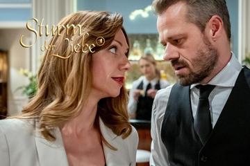 Sturm der Liebe: Sturm der Liebe: Ariane lockt Erik auf ihr Zimmer - was hat sie vor?
