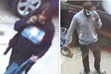 Frau in ihrer Wohnung überfallen: Wer erkennt die beiden Verdächtigen?