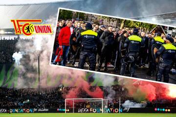 Polizeigewalt gegen Fans überschattet Union-Niederlage in Rotterdam