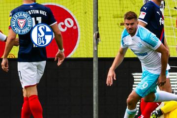 Terodde-Doppelpack! Schalke feiert bei Holstein Kiel klaren Auswärtssieg