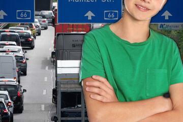 Junge (11) beweist wahren Mut und verhindert Verkehrsdrama auf der A66