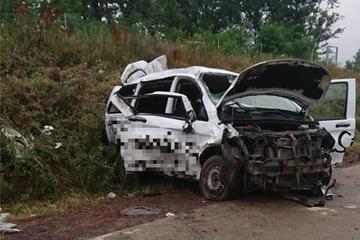 Unfall A14: Tragischer Unfall auf A14: Zwei Menschen werden aus Auto geschleudert und sterben