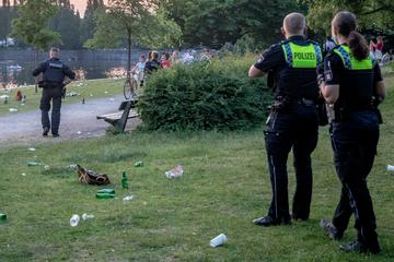 Hamburg: Feiern und Sommer genießen? Polizei räumt Partyzone