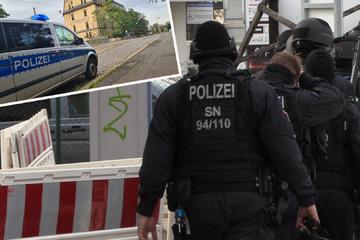 Leipzig: Mit Pistole auf Autofahrer gezielt? Polizei sucht nach bewaffnetem Mann