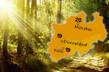 Kommt jetzt der Herbst? Sonne, aber nur mäßig warmes Wetter in NRW