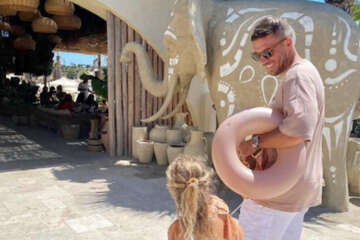 Lukas Podolski teilt niedliche Moment-Aufnahme mit Töchterchen Maya
