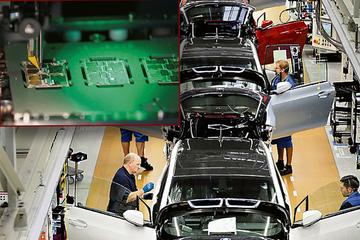 Chip-Krise legt Leipziger BMW-Werk lahm: Kurzarbeit für Angestellte