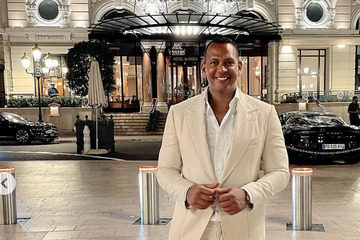 Moving on? Alex Rodriguez celebrates birthday with mysterious blonde in Saint-Tropez
