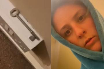 Mysteriöse Entdeckung: Erste Nacht im neuen Haus lehrt Frau das Gruseln