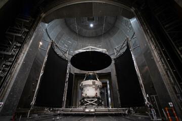 Zweites Modul für Orion-Raumschiff klar zum Abtransport