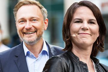 In neuer Umfrage liegen Lindner und Baerbock vorn, AfD-Weidel dicht hintendran