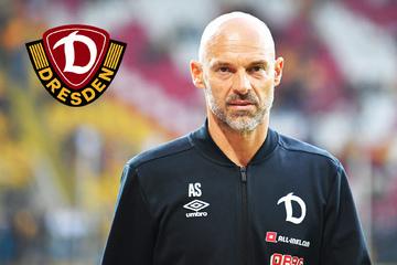 """Dynamo-Trainer Schmidt zum Thema Impfen: """"Ich kann andere Meinungen akzeptieren"""""""