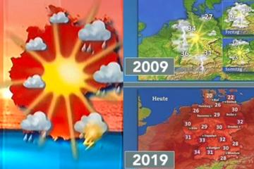 """""""Klimahysterie"""": Zeichnen aktuelle Wetterkarten absichtlich ein düsteres Bild?"""