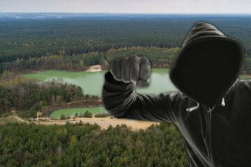 Bei der Kiesgrube: Familienvater zeigt Zivilcourage und wird verprügelt - Zeugen gesucht!