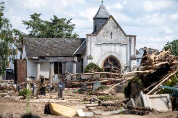 Hochwasser-Katastrophe in Rheinland-Pfalz: Bestattungen im Kreis Ahrweiler schwierig