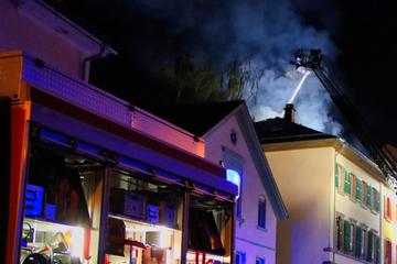 Frankfurt: Eine verletzte Person bei Feuer in Darmstädter Innenstadt